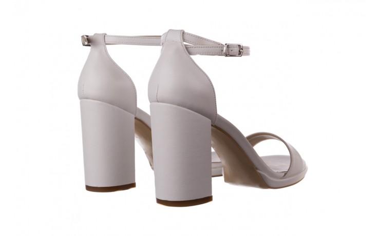 Sandały bayla-187 587-571 biały, skóra ekologiczna  - peep toe - czółenka - buty damskie - kobieta 3