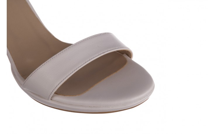 Sandały bayla-187 587-571 biały, skóra ekologiczna  - peep toe - czółenka - buty damskie - kobieta 6