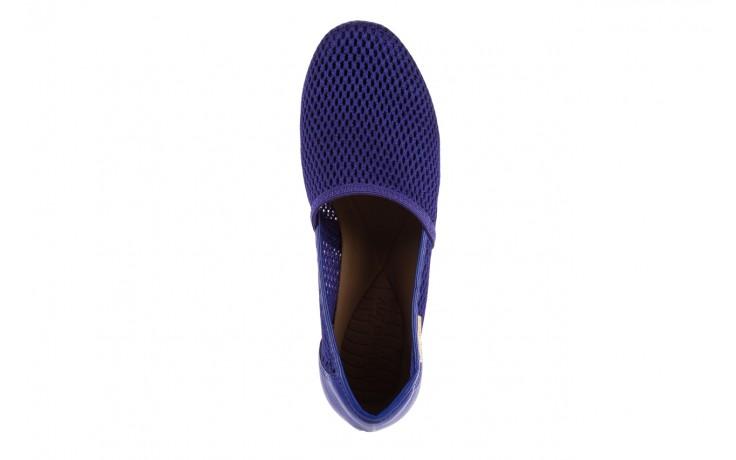 Półbuty azaleia 622 228 royal blue, granat, materiał  - azaleia - nasze marki 4