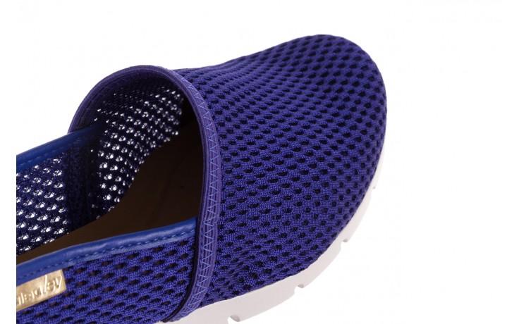 Półbuty azaleia 622 228 royal blue, granat, materiał  - azaleia - nasze marki 5