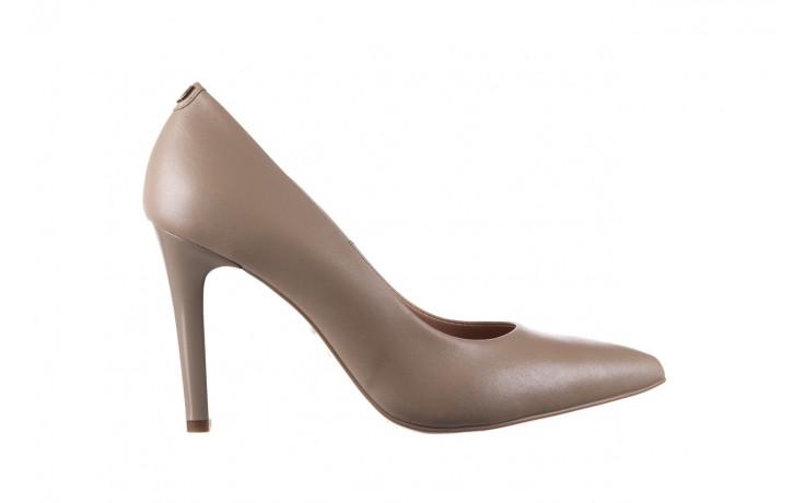 Szpilki bayla-056 9116-1461 beż perła, skóra naturalna  - skórzane - szpilki - buty damskie - kobieta