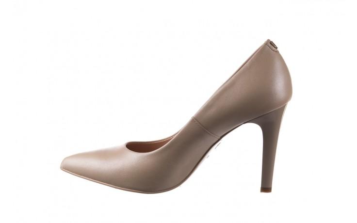 Szpilki bayla-056 9116-1461 beż perła, skóra naturalna  - skórzane - szpilki - buty damskie - kobieta 2
