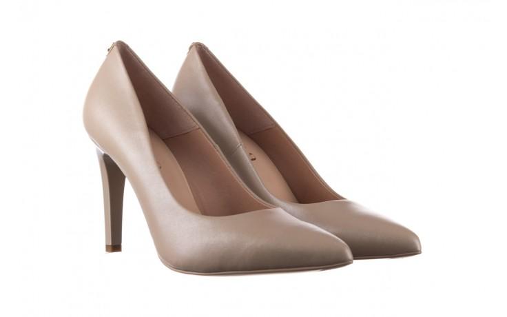 Szpilki bayla-056 9116-1461 beż perła, skóra naturalna  - skórzane - szpilki - buty damskie - kobieta 1