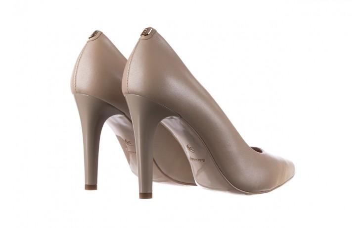Szpilki bayla-056 9116-1461 beż perła, skóra naturalna  - skórzane - szpilki - buty damskie - kobieta 3