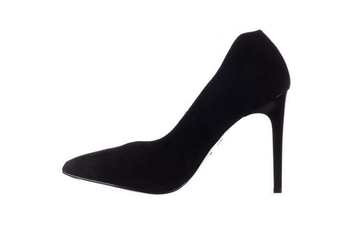 Szpilki bayla-056 9174-21 czarny zamsz, skóra naturalna  - zamszowe - szpilki - buty damskie - kobieta 2