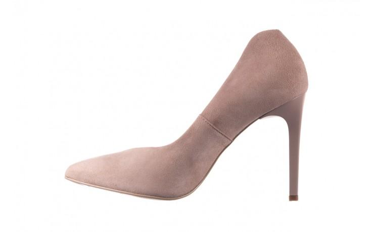 Szpilki bayla-056 9174-140 beż zamsz, skóra naturalna  - zamszowe - szpilki - buty damskie - kobieta 2