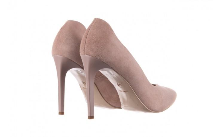 Szpilki bayla-056 9174-140 beż zamsz, skóra naturalna  - zamszowe - szpilki - buty damskie - kobieta 3