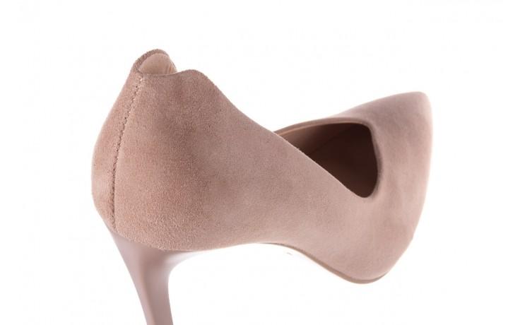 Szpilki bayla-056 9174-140 beż zamsz, skóra naturalna  - zamszowe - szpilki - buty damskie - kobieta 5