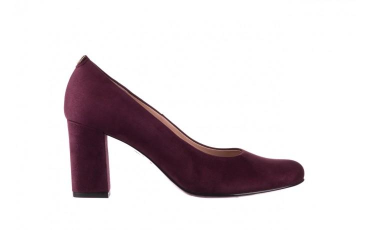 Czółenka bayla-056 9214-1321 fiolet zamsz, skóra naturalna - zamszowe - szpilki - buty damskie - kobieta