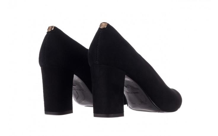 Czółenka bayla-056 9227-21 czarny zamsz, skóra naturalna - na słupku - czółenka - buty damskie - kobieta 3