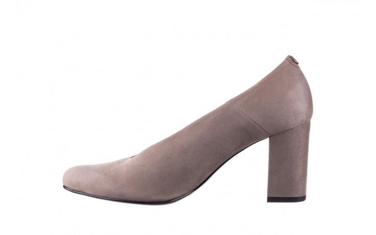 Czółenka bayla-056 9227-1318 szary zamsz, skóra naturalna  - zamszowe - czółenka - buty damskie - kobieta 2