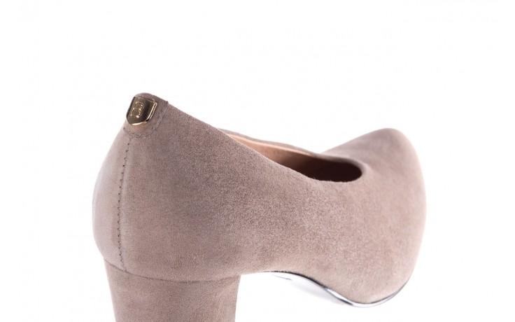 Czółenka bayla-056 9227-1318 szary zamsz, skóra naturalna  - zamszowe - czółenka - buty damskie - kobieta 5