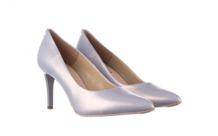 Czółenka bayla-056 7064-1448 szary perła 20, skóra naturalna  - szpilki - buty damskie - kobieta 1