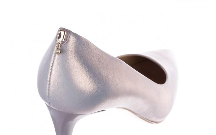 Czółenka bayla-056 7064-1448 szary perła 20, skóra naturalna  - szpilki - buty damskie - kobieta 5