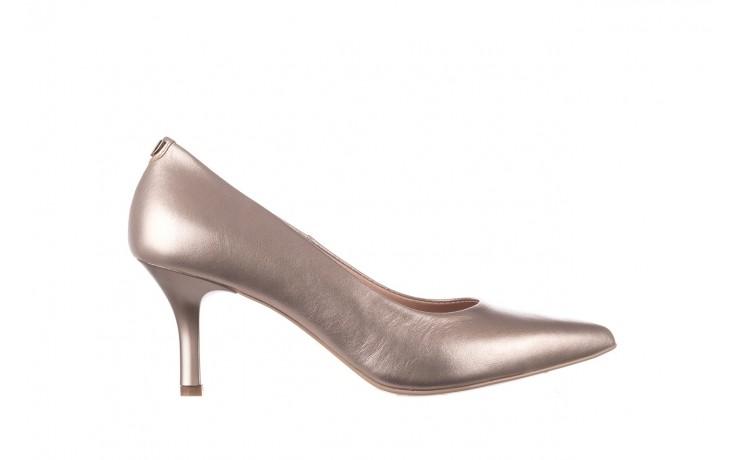 Czółenka bayla-056 9117-1099 beż perła 20, skóra naturalna  - szpilki - buty damskie - kobieta