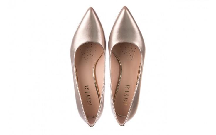 Czółenka bayla-056 9117-1099 beż perła 20, skóra naturalna  - szpilki - buty damskie - kobieta 4