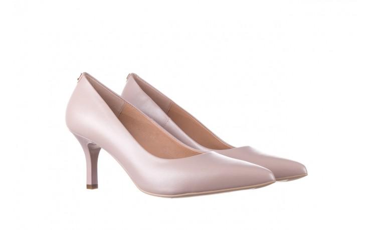 Czółenka bayla-056 9117-1460 róż perła, skóra naturalna  - skórzane - szpilki - buty damskie - kobieta 1