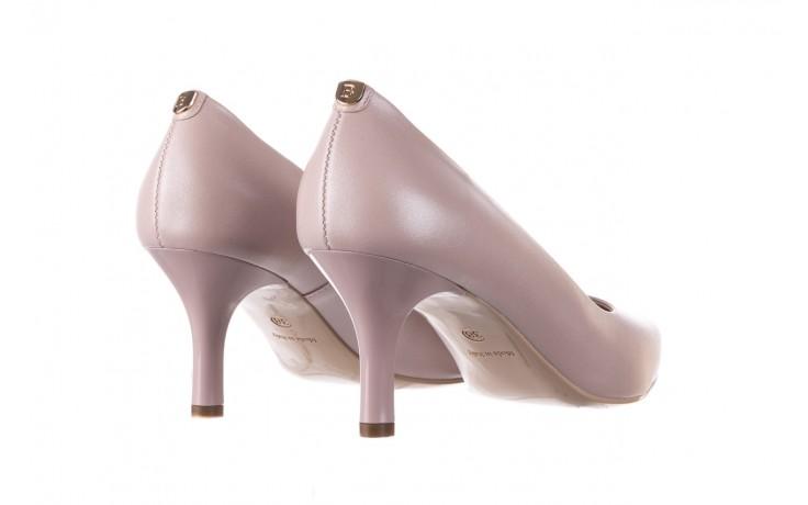 Czółenka bayla-056 9117-1460 róż perła, skóra naturalna  - skórzane - szpilki - buty damskie - kobieta 3