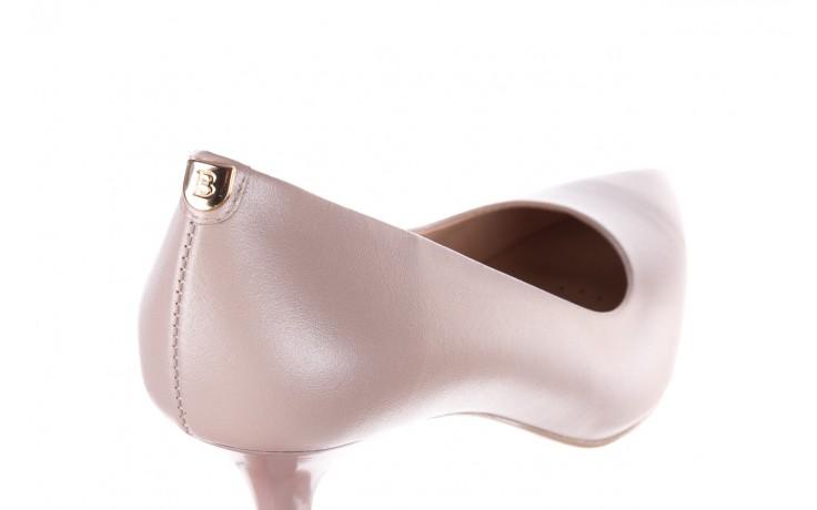 Czółenka bayla-056 9117-1460 róż perła, skóra naturalna  - skórzane - szpilki - buty damskie - kobieta 5