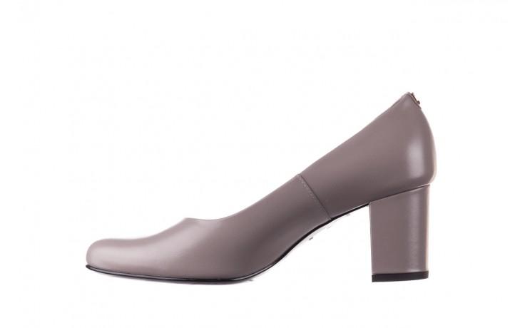 Czółenka bayla-056 9222-700 popiel, skóra naturalna  - skórzane - szpilki - buty damskie - kobieta 2