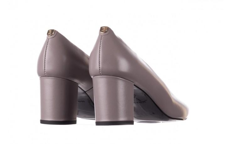 Czółenka bayla-056 9222-700 popiel, skóra naturalna  - skórzane - szpilki - buty damskie - kobieta 3