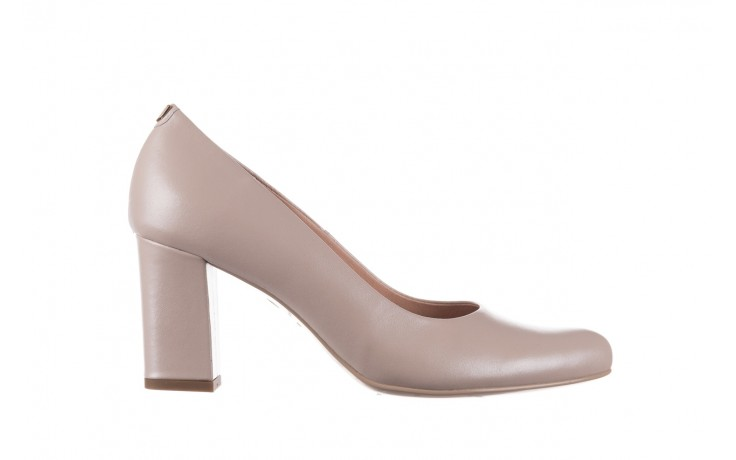 Czółenka bayla-056 9214-1459 beż perła, skóra naturalna  - czółenka - buty damskie - kobieta