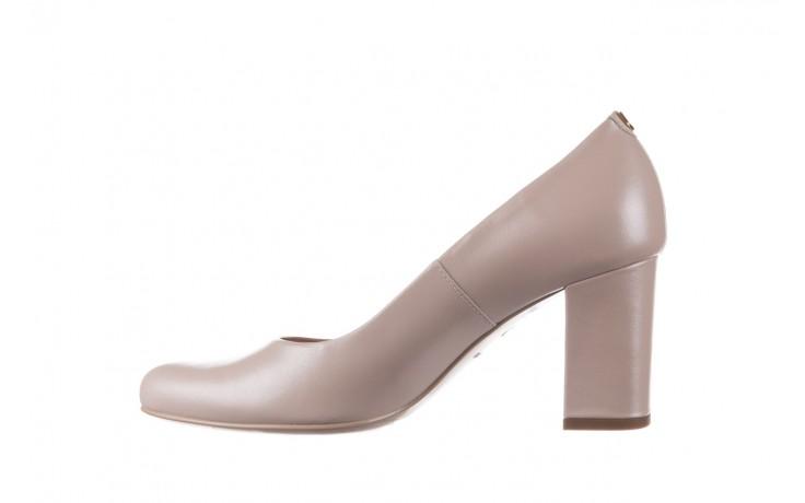 Czółenka bayla-056 9214-1459 beż perła, skóra naturalna  - czółenka - buty damskie - kobieta 2