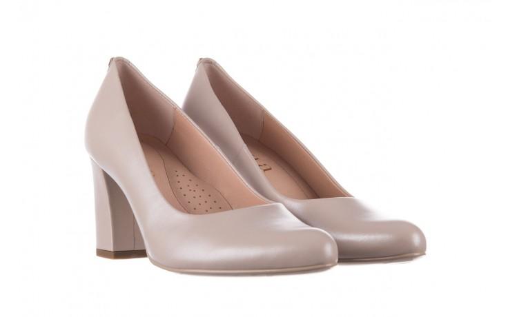 Czółenka bayla-056 9214-1459 beż perła, skóra naturalna  - czółenka - buty damskie - kobieta 1