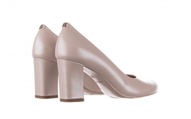 Czółenka bayla-056 9214-1459 beż perła, skóra naturalna  - czółenka - buty damskie - kobieta 3