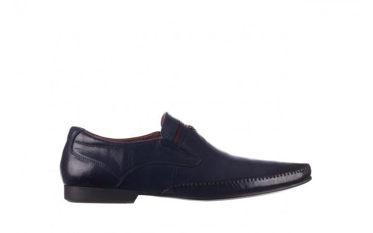 Mokasyny brooman 17931-151h677 niebieski, skóra naturalna  - mokasyny i espadryle - buty męskie - mężczyzna