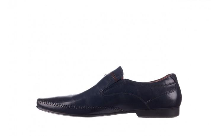 Mokasyny brooman 17931-151h677 niebieski, skóra naturalna  - mokasyny i espadryle - buty męskie - mężczyzna 2