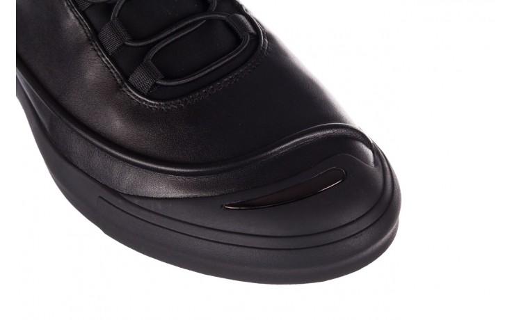 Trampki brooman b55117-1 czarny, skóra naturalna  - niskie - trampki - buty męskie - mężczyzna 5