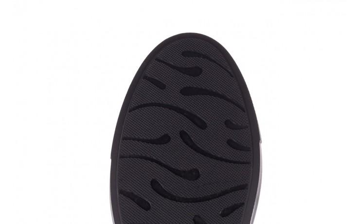 Trampki brooman b55117-1 czarny, skóra naturalna  - niskie - trampki - buty męskie - mężczyzna 6