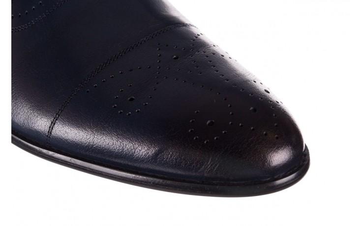 Półbuty brooman ja190-708a-j15 niebieski, skóra naturalna  - półbuty - buty męskie - mężczyzna 6