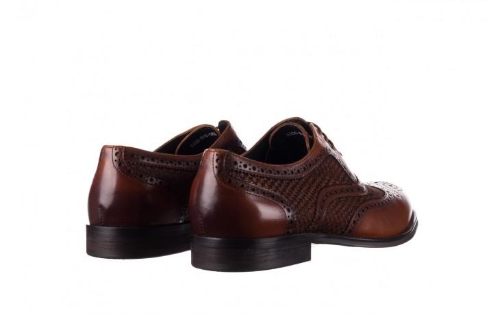 Półbuty brooman b206-b10-sw2 brązowy, skóra naturalna  - brooman - nasze marki 3