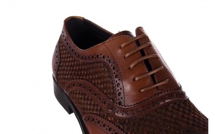 Półbuty brooman b206-b10-sw2 brązowy, skóra naturalna  - brooman - nasze marki 5