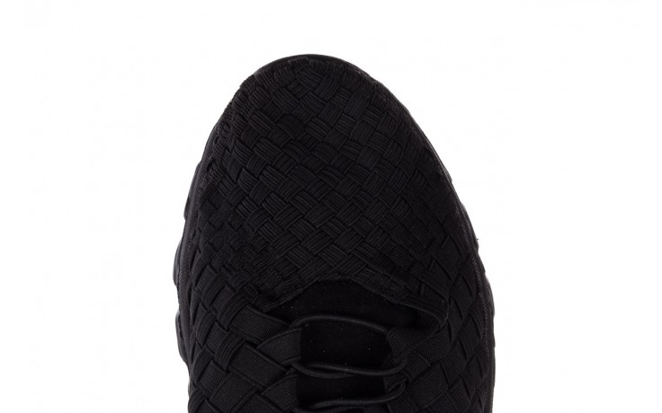 Trampki rock haneda men black, czarny, materiał 6