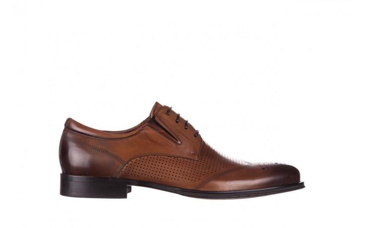 Półbuty john doubare db19-314-c79 brązowy, skóra naturalna - półbuty - buty męskie - mężczyzna