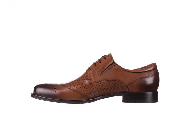 Półbuty john doubare db19-314-c79 brązowy, skóra naturalna - półbuty - buty męskie - mężczyzna 2