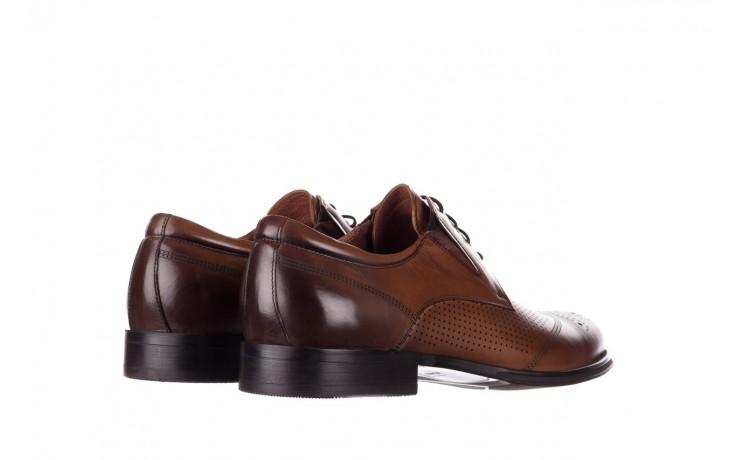 Półbuty john doubare db19-314-c79 brązowy, skóra naturalna - półbuty - buty męskie - mężczyzna 3