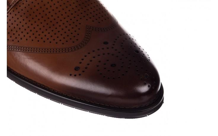 Półbuty john doubare db19-314-c79 brązowy, skóra naturalna - półbuty - buty męskie - mężczyzna 5