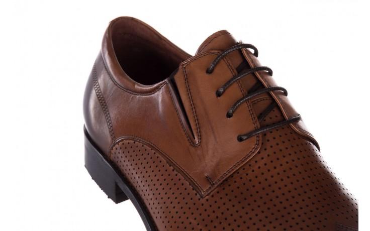 Półbuty john doubare db19-314-c79 brązowy, skóra naturalna - półbuty - buty męskie - mężczyzna 6