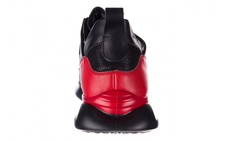 Trampki john doubare f858-1 czarny, skóra naturalna  - wysokie - trampki - buty męskie - mężczyzna 8