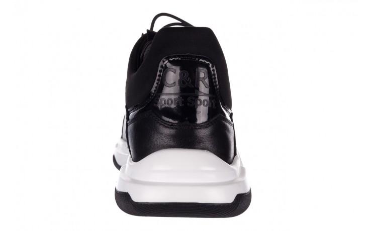 Trampki john doubare f1808-1 czarny, skóra naturalna  - niskie - trampki - buty męskie - mężczyzna 8