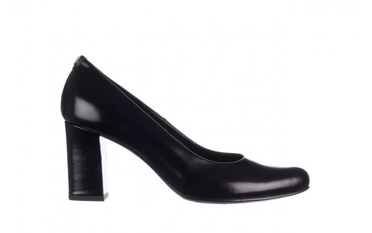 Czółenka bayla-056 9214-1278 czarny lico 20, skóra naturalna - na słupku - czółenka - buty damskie - kobieta