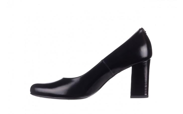 Czółenka bayla-056 9214-1278 czarny lico 20, skóra naturalna - na słupku - czółenka - buty damskie - kobieta 2