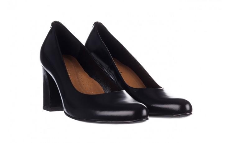 Czółenka bayla-056 9214-1278 czarny lico 20, skóra naturalna - na słupku - czółenka - buty damskie - kobieta 1