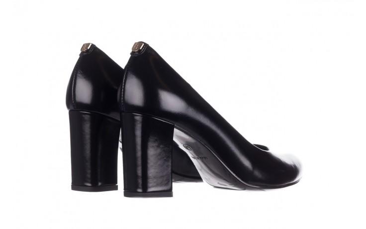Czółenka bayla-056 9214-1278 czarny lico 20, skóra naturalna - na słupku - czółenka - buty damskie - kobieta 3
