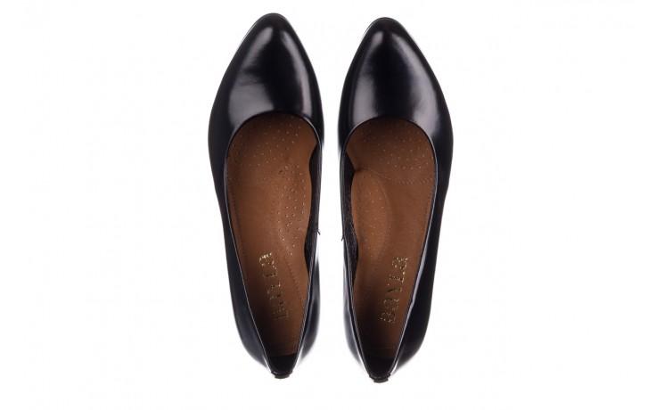 Czółenka bayla-056 9214-1278 czarny lico 20, skóra naturalna - na słupku - czółenka - buty damskie - kobieta 4