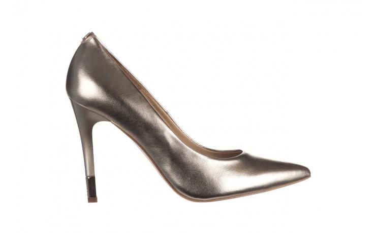 Szpilki bayla-056 2062-740 złoty, skóra naturalna  - czółenka - buty damskie - kobieta